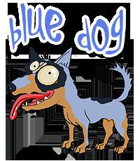 BlueDog Logo